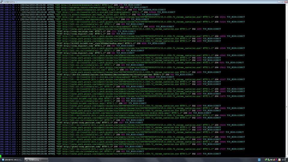 Configure Lusca as Proxy Server in Ubuntu
