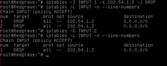 cara Blokir IP di Linux