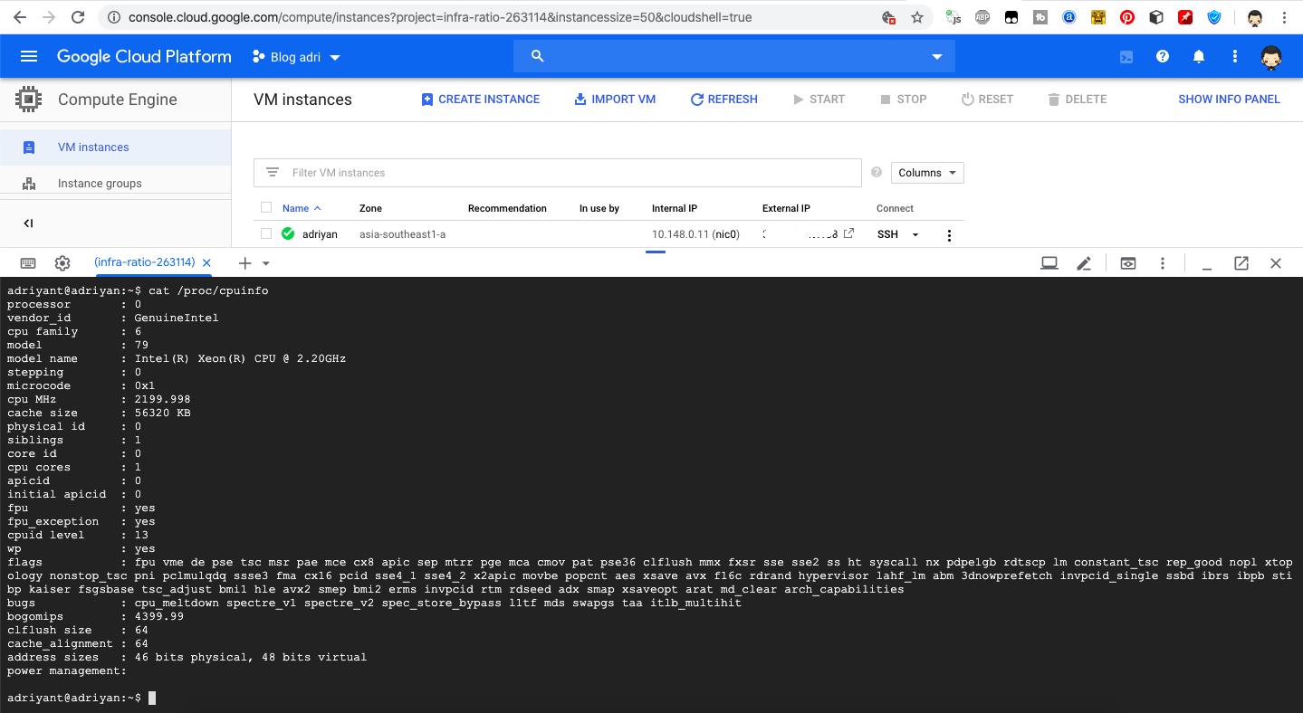 Command Linux Untuk Cek Hardware dan Spesifikasi Linux