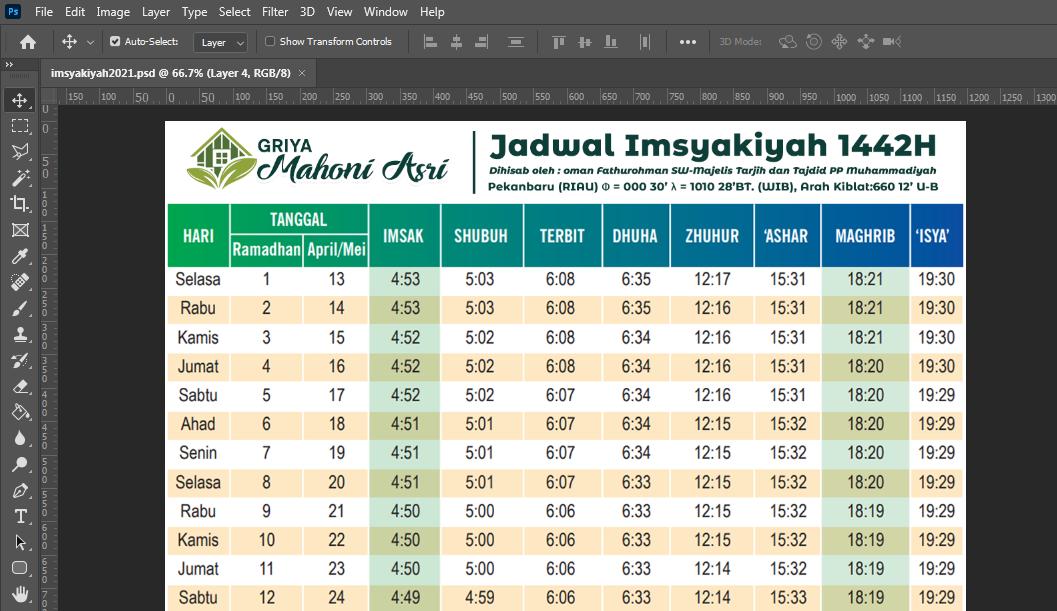 design imsyakiyah 2021 format psd