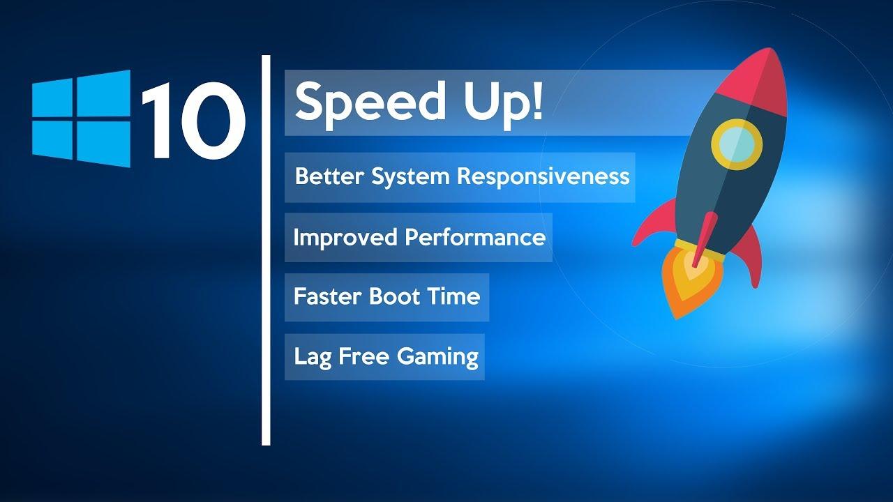 Mempercepat Windows 10